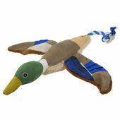 Joules Blue Plush Duck Dog Toy