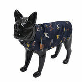 Joules Navy Dog Raincoat