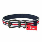 Joules Red Coastal Dog Collar
