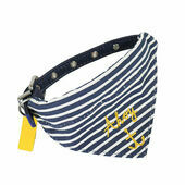 Joules Ahoy Dog Bandana Collar