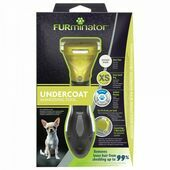 FURminator Undercoat deShedding Tool for Extra Small Short Hair Dog