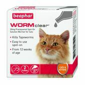 Beaphar WORMclear Spot-On for Cats