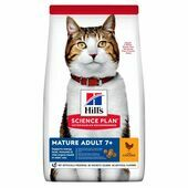 Hill's Science Plan Mature Adult Dry Cat Food Chicken