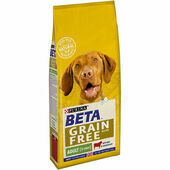 Beta Adult Grain Free Dry Dog Food With Beef 1.5kg