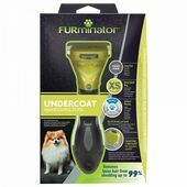 FURminator  Undercoat deShedding Tool for Extra Small Long Hair Dog