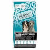 Burns Adult Large/Giant Breed Chicken and Brown Rice 12kg