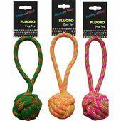 Hem & Boo Fluro Rope Toy Thck