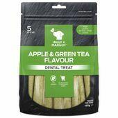 Billy & Margot Dental Treat Apple & Green Tea Large 130g