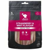 Billy & Margot Dental Treat Strawberry & Mint Small 130g