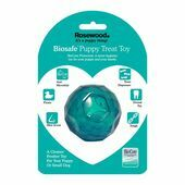 Rosewood Biosafe Puppy Treat Ball Blue