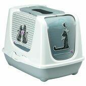Moderna Trendy Cat Cats in Love Litter Box Large