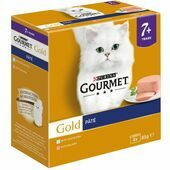 Gourmet Gold Senior Pate with Fish 8x85g