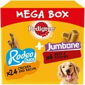 PEDIGREE Rodeo Duos & Jumbone Medium Mega Box 780g