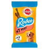 12 x Pedigree Rodeo Beef Stick 7 Pack