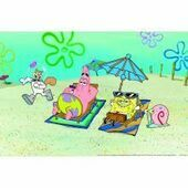 Animate Sponge Bob Background 60x40cm