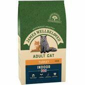 JAMES WELLBELOVED Indoor Adult Cat Turkey