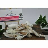 Cotswold Raw Rabbit Ear With Fur 100g