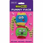 Dog & Co Funny Face Mega Ball (Assorted)