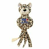 KONG Wubba No-Stuff Cheetah Large