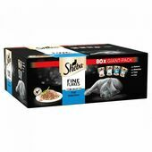 SHEBA Fine Flakes Cat Pouches Fish Collection in Jelly 80x85g