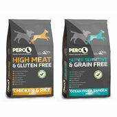 2 x 12kg Pero High Meat Chicken & Sensitive Fish Dry Dog Food