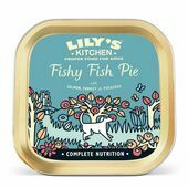 10 x 150g Lily's Kitchen Wet Dog Tray Fishy Fish Pie