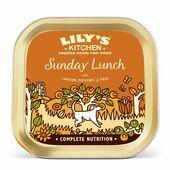 10 x 150g Lily's Kitchen Wet Dog Tray Sunday Lunch