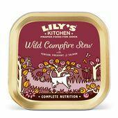 10 x 150g Lily's Kitchen Wet Dog Tray Wild Campfire Stew