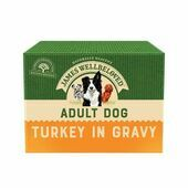 James Wellbeloved MEGA PACK Dog Pouches Turkey with Rice in Gravy 40x150g