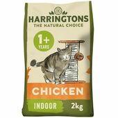 Harringtons Chicken Cat Food Indoor 2kg
