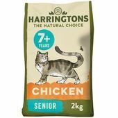 Harringtons Cat Food Senior Chicken 2kg