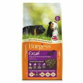Burgess Excel Blackcurrant & Oregano Guinea Pig Food 10kg