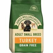James Wellbeloved Adult Dog Small Breed Grain Free - Turkey & Veg