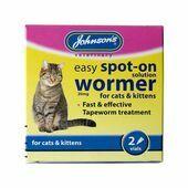 Johnson's Easy Spot-on Wormer Cat 2 Treatment