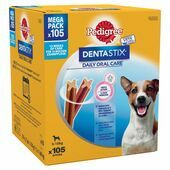 Pedigree Dentastix Daily Oral Care Dental Chews Small Breed (105 Sticks)