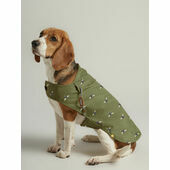 Joules Water Resistant Raincoat Olive Bee Print