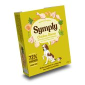 7 x 395g Symply Wet Tray Chicken Dinner Dog Food