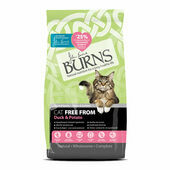 Burns Cat Food Free From Duck & Potato
