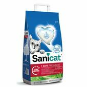 Sanicat Aloe Vera 7 Days Non Clumping Cat Litter 4 Litres