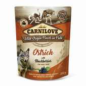 Carnilove Ostrich with Blackberries Wet Dog Food