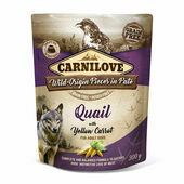 Carnilove Quail with Yellow Carrot Wet Dog Food