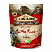 Carnilove Wild Boar with Rosehips Wet Dog Food