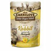 Carnilove Kitten Pouch Rabbit with Marigold