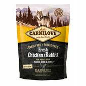 Carnilove Fresh Chicken & Rabbit Adult Dog Food