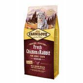 Carnilove Fresh Chicken & Rabbit Adult Cat Food