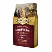 Carnilove Lamb & Wild Boar Adult Cat Food