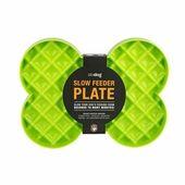 Slow Feeder Plate Green