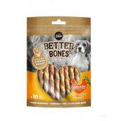 Zeus Better Bones Chicken Twists Dog Treats