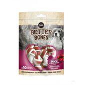 Zeus Better Bones Duck & Cranberry Small Bones Dog Treats 7.5cm