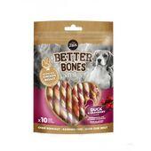 Zeus Better Bones Duck & Cranberry Twists Dog Treats